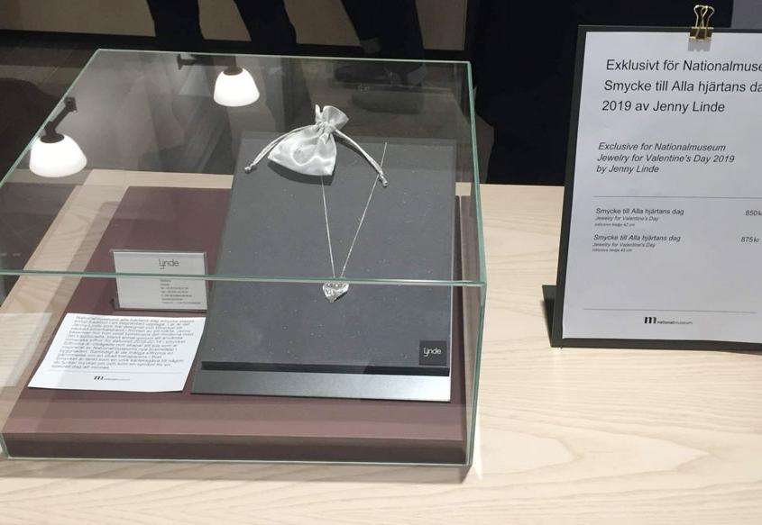 2019 års alla hjärtans dag smycke